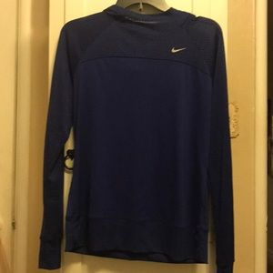 Royal blue Nike dry fit sports gear